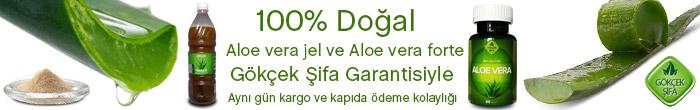 Aloe vera jel ve Aloe vera forte satış